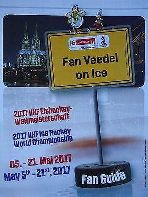 Fan Guide IIHF Eishockey Weltmeisterschaft 2017 Köln / Paris