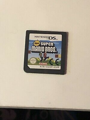 new super mario bros nintendo ds game CART ONLY