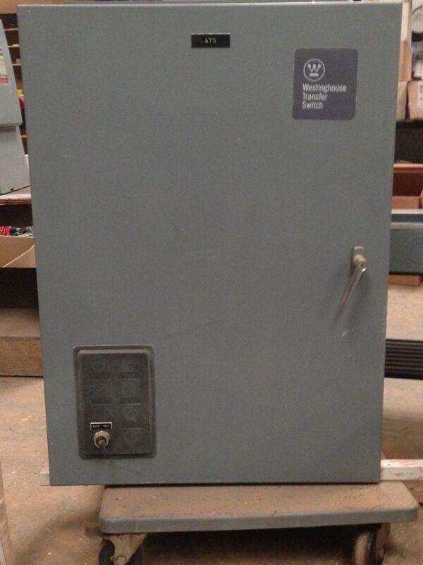 3 Phase, 480 V, 100 A Westinghouse ATS
