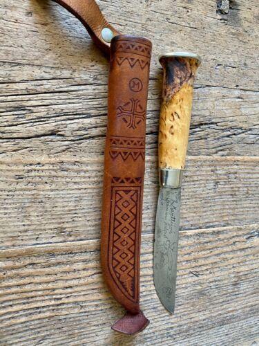 Beautiful Vintage Original  Marttini Puukko Finland knife