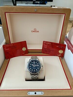 OMEGA Seamaster Diver 300M Co-Axial 41mm Ceramic Blue 2018 - 212.30.41.20.03.001
