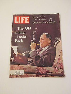 Jan 10,1964 Life Magazine Douglas MacArthur The Old Soldier Looks Back