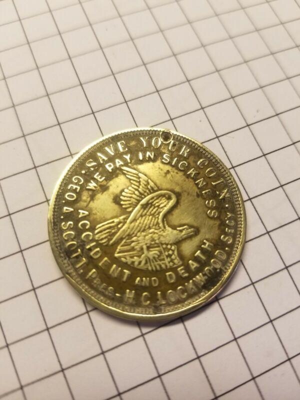 National Protective Legion Mason Masonic Coin