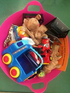 Basket of pre loved toys Haymarket Inner Sydney Preview
