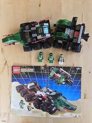 LEGO 6957 Space Police 2 SOLAR SNOOPER Set 99% Complete! w Instructions