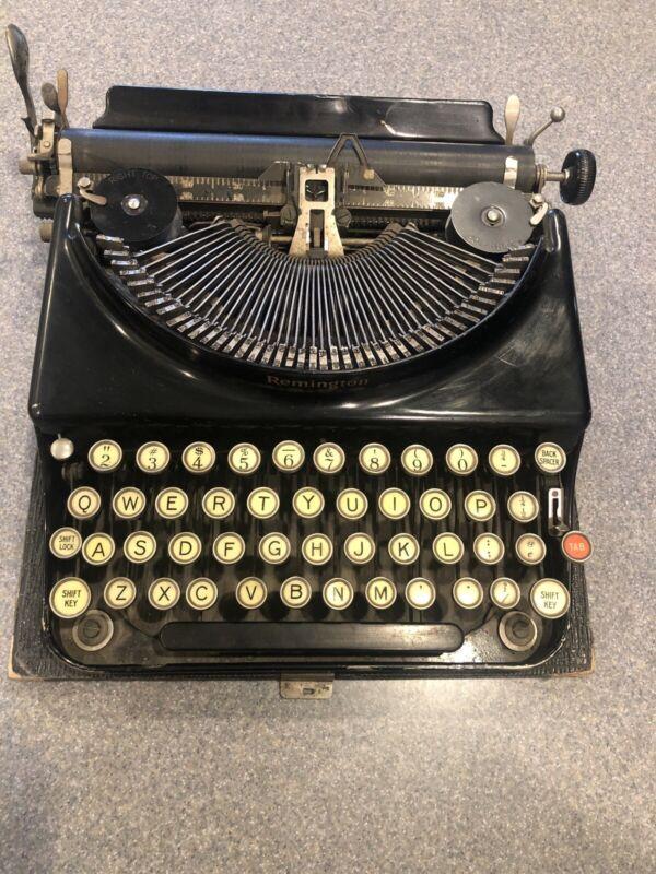 Antique Writer Typewriter Remington Standard Visible  Collectible  8615