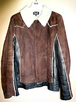 D&G men's sheepskin jacket for sale  Shipping to Canada