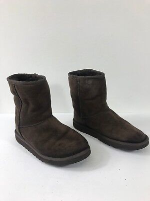 Ugg Australia Kid's Youth Brown Classic Short Boots Size 4  #383 for sale  La Puente