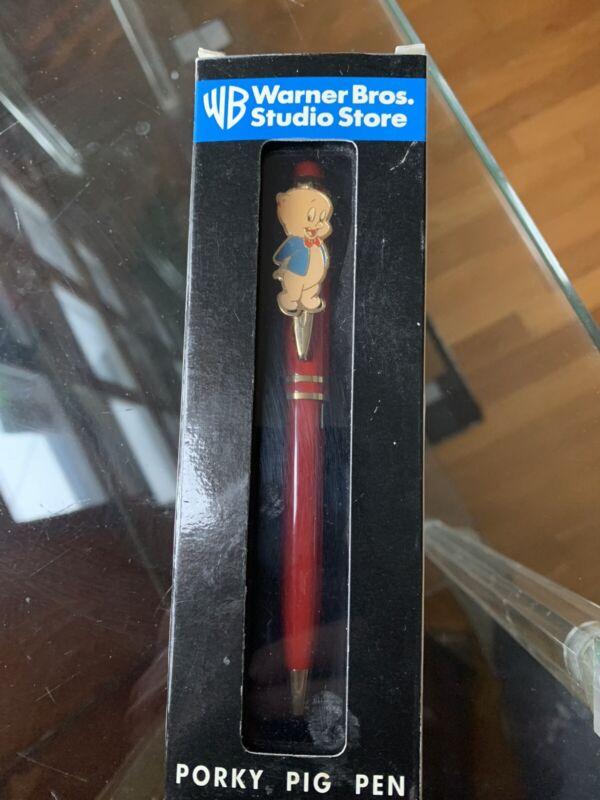 Vtg Warner Bros Porky Pig Pen 1997