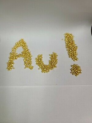 1 gram 24k Fine Gold Shot / grain .9999 Pure. Investment Grade Gold