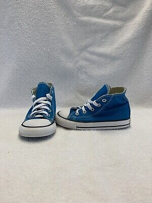 Converse All Star Chuck Taylor Toddler Boys Cyan Space Hightop Shoes~size 8 C