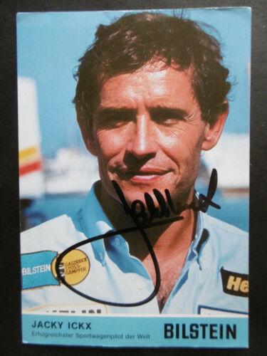 Jacky Ickx Autogramm signed 10x16 cm Postkarte