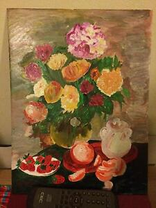 Still life painting with frame. Brand New North Sydney North Sydney Area Preview