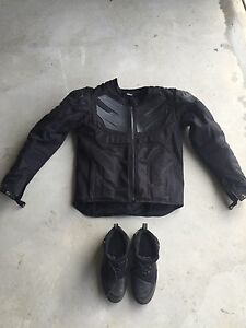 Icon jacket and boots