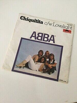 Abba - Chiquitita - Vinyl Record Single -