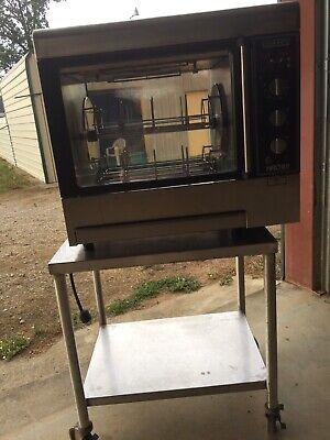 Hobart Model Hr01-01 Rotisserie Oven 208240 Volts Excellent Condition.