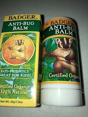 Badger Balm Anti-Bug Balm Stick - 1.5 oz DEET-Free (Badger Ointment)