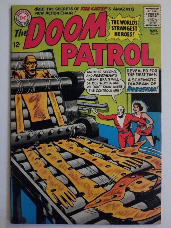 Doom Patrol (1964) #94 - Fine