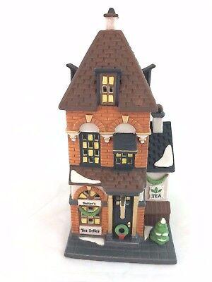 """Dept 56 Christmas In the City """"Potter's Tea Seller""""  5880-7"""