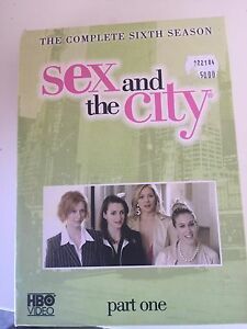 Sex and the city season six Scarborough Stirling Area Preview