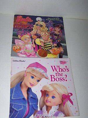 BARBIE A Boo-Tiful Halloween! by Mary Man-Kong 2013 BARBIE Who's the Boss 1997 (Boo-tiful Halloween Barbie)