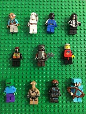 Lego Minifigure lot of 10 Random pick
