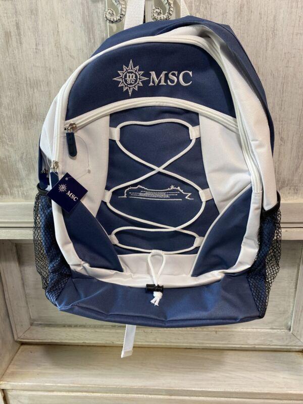 MSC Cruise Line Backpack