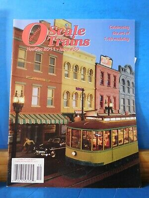 O Scale Trains #59 2011 Nov Dec Modeling from Memories, used for sale  Shipping to United Kingdom