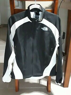 The North Face TNF Womens Flight Series Black & White Jacket Size M