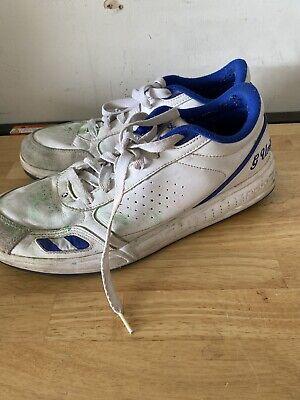 Rare Reebok G-Unit G6's White/ Blue Shoe Size 11.5