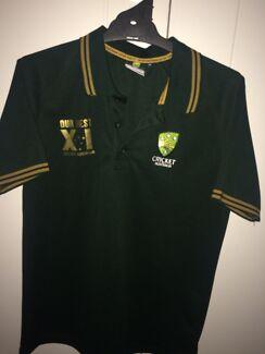 Cricket Australia boys polo size 14