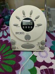 Classic Homedics Brand Alarm Clock Radio Spa Therapy Sound Machine # SS-400B