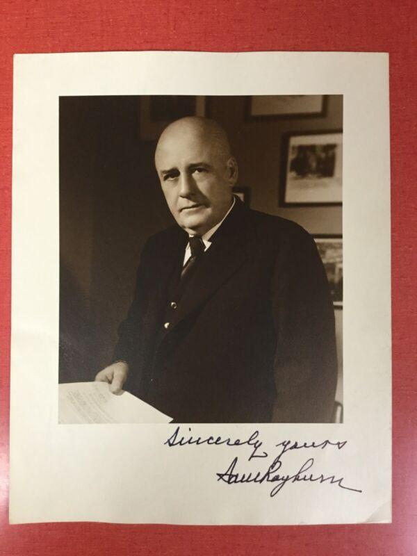 Sam Rayburn SIGNED Photo - U.S. Speaker of the House from Texas - June 7, 1948