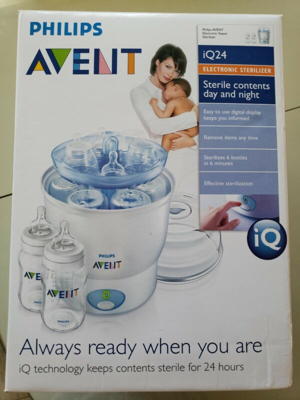 Phillips Avent Baby Bottle Electronic Sterilizer EUC (can use with any bottles)