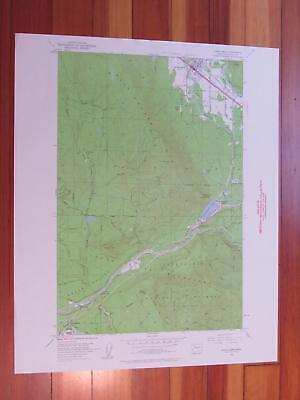 North Bend Washington 1960 Original Vintage USGS Topo (North Bend Washington Map)