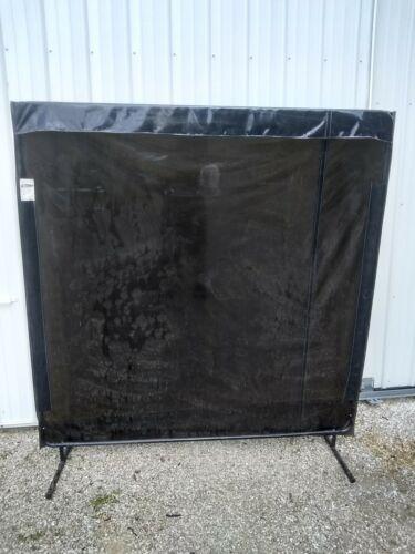 SINGER SAFETY WELDING CURTAIN PLUS FRAME 6 ft X 6 ft