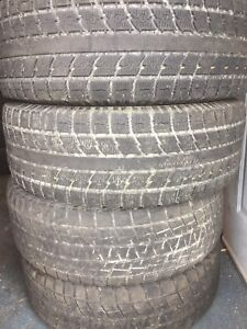 4-275/65R18 Toyo studless winter tires