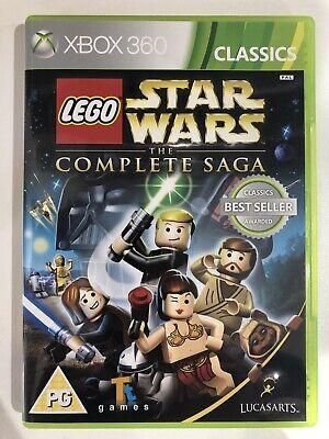 Lego Star Wars : The Complete Saga. (Xbox 360) *Playable On Xbox One*