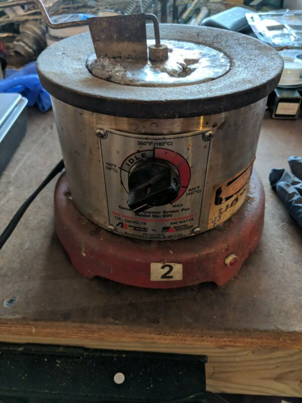 American Beauty Model No. Number 600 Solder Pot General Purpose