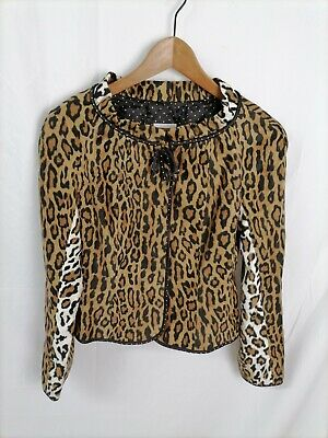 MOSCHINO CHEAP and CHIC Giacca CASUAL Cappotto Coat FANTASIA Jacket Tg 42 Donna