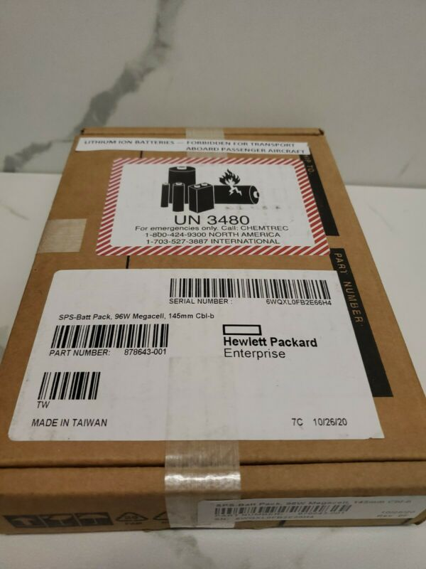 878643-001 HPE 96W Smart Storage Battery Module 875241-B21 871264-001 NEW