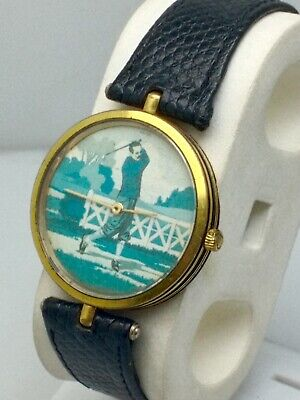 RARE VINTAGE GUCCI BREIL ST.ANDREWS GIFTED WATCH