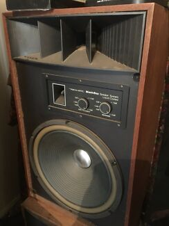 To old school antique realistic speakers Geebung Brisbane North East Preview