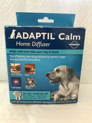ADAPTIL CALM HOME DIFFUSER for Dogs 30 Day Starter Kit exp 12/2020