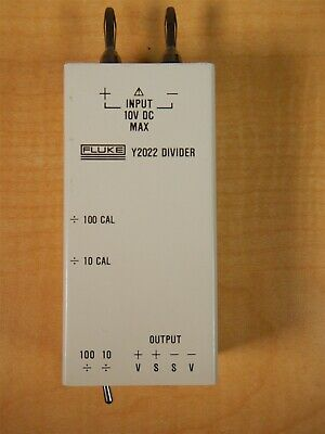 Used Fluke Y2022 Divider For Thermometer Calibration Nice T1