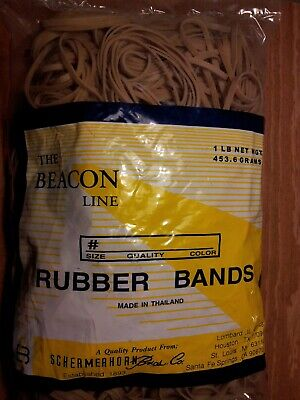 Rubber Bands 32 The Bacon Line Schermerhorn Bros. 4 Lbs.
