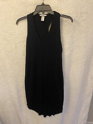 H&M Black Dress Size Large Slip