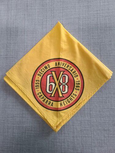 Boy Scouts of America Concilio De Puerto Rico 10th Aniversario Neckerchief 1965