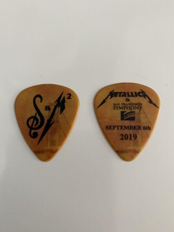 Metallica Sept 6th 2019 S&M2 San Francisco Symphony Guitar Pick