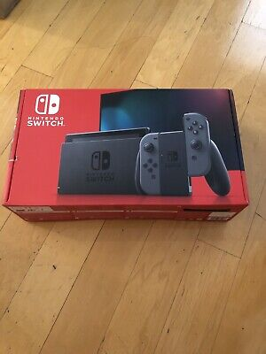 NEW Nintendo Switch HAC-001(-01) 32GB Console with Gray Joy‑Con